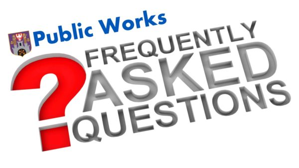 Public Works frequently asked questions