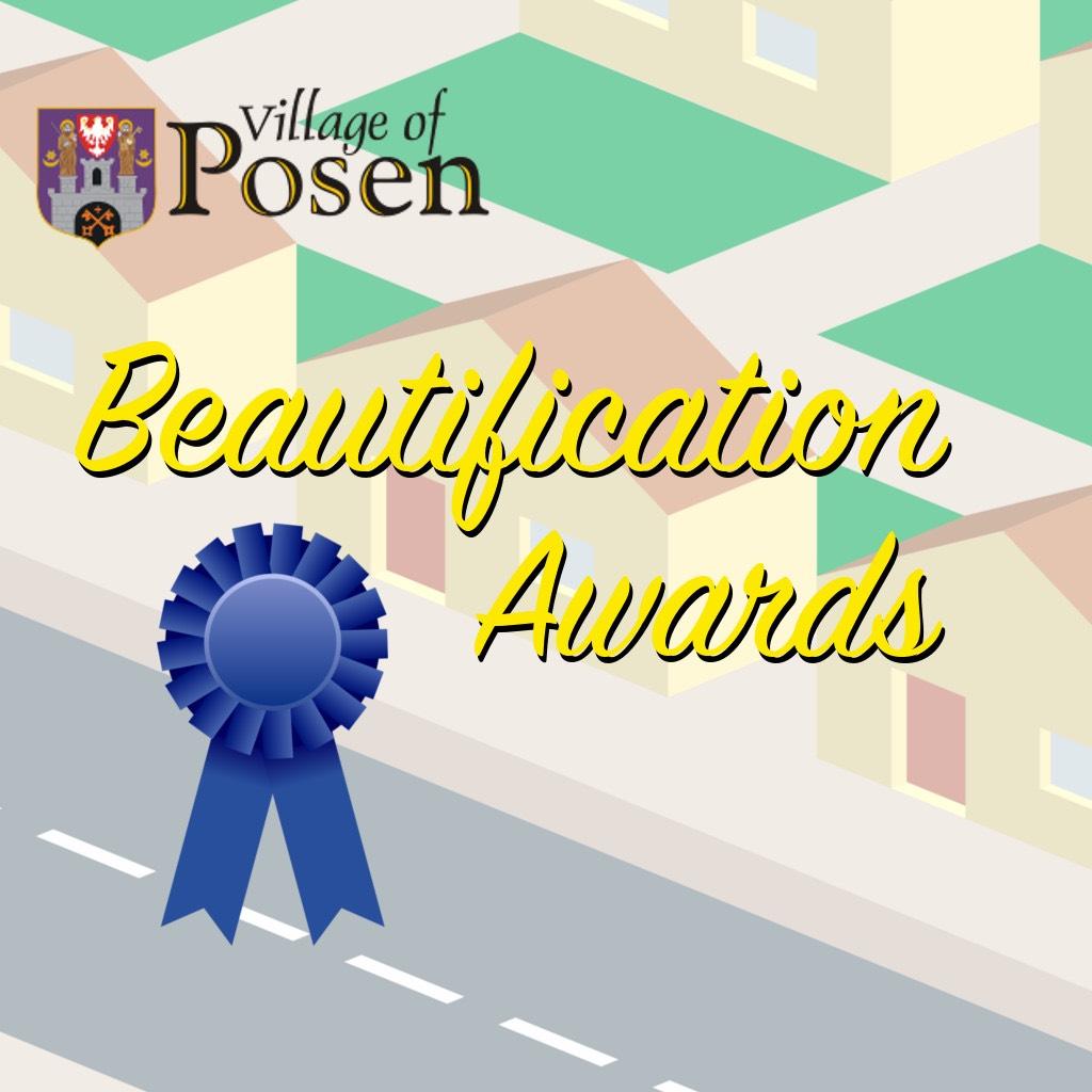 posen beautification awards